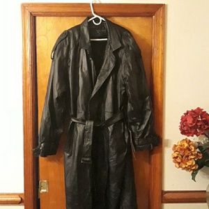 Phase Two Genuine Leather Coat